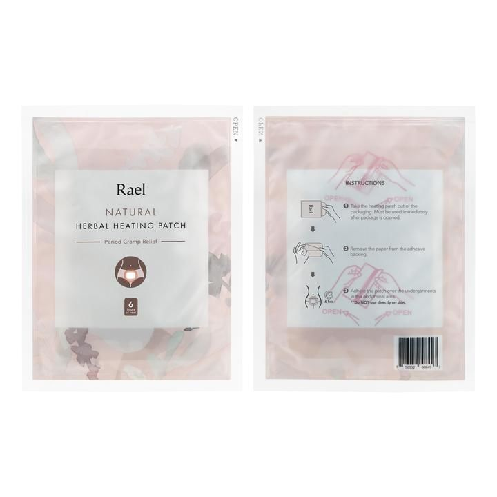 On-the-Go Menstruation Relief Patches