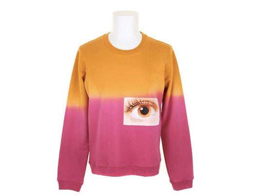 Ocular Color-Blocked Fashions