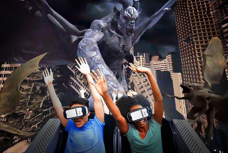 Frightful VR Coasters