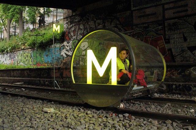 Futuristic Railway Pods
