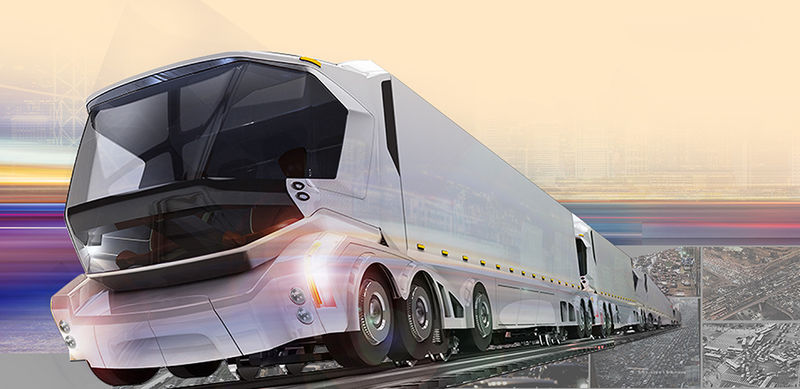 Futuristic Railroad Vehicles