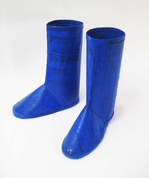 Recycled Rain Boots