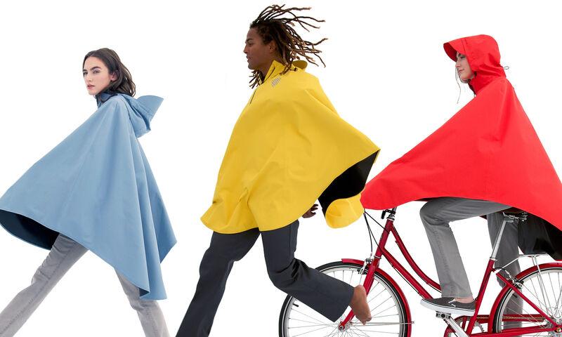 Bike-Ready Rain Capes
