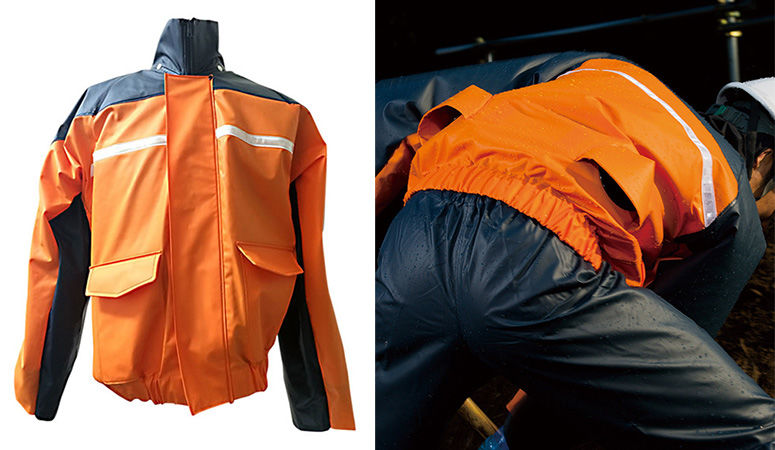 Air-Conditioned Rain Jackets