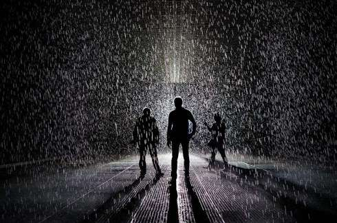 Storm Simulating Installations : rain room