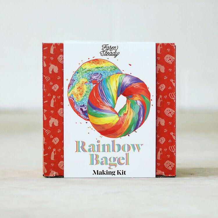 Rainbow Bagel-Making Kits