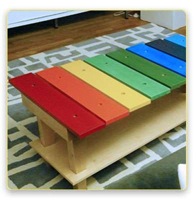 Musical Kiddie Tables