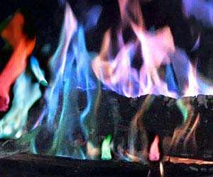 Chromatic Fire Kits Rainbow Fireplace Flame Crystals By