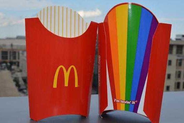 Pride-Celebrating Fast Food Packaging