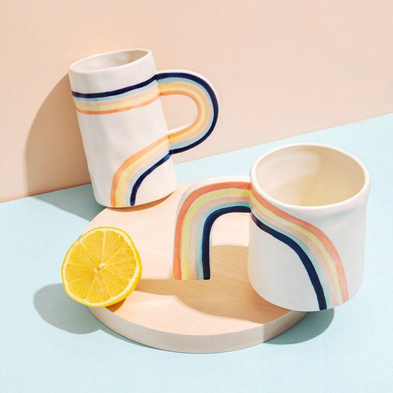 Charming Rainbow Mugs