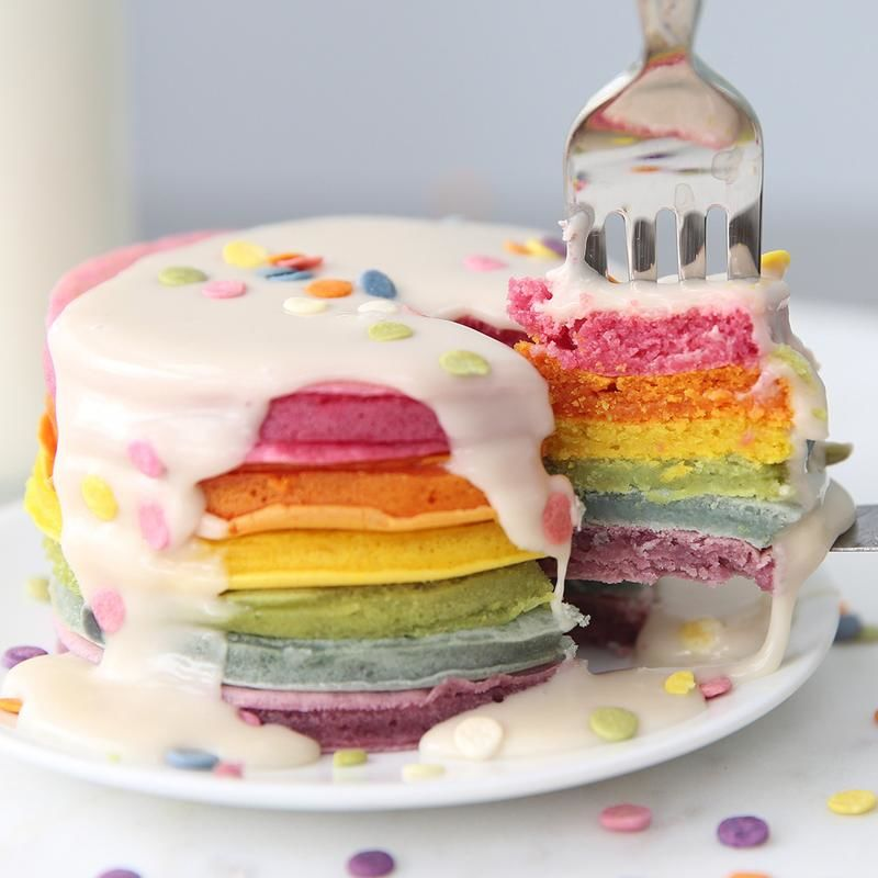 Vibrant DIY Pancake Kits