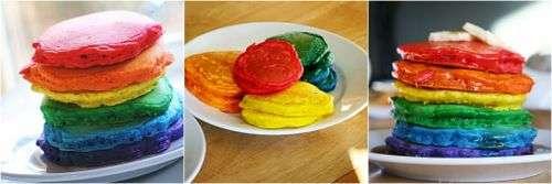 Multi-Coloured Crepes