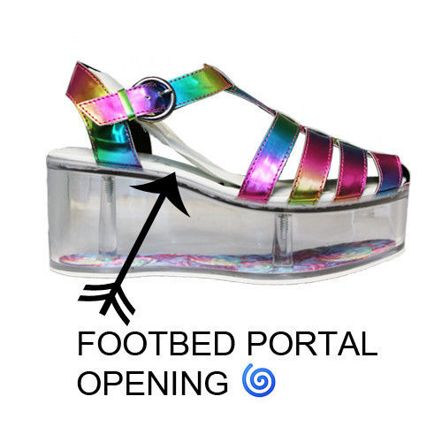 Customizable Rainbow Platforms