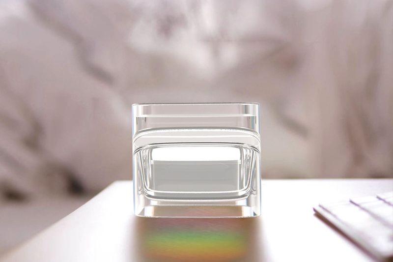 Rainbow-Projecting Glassware
