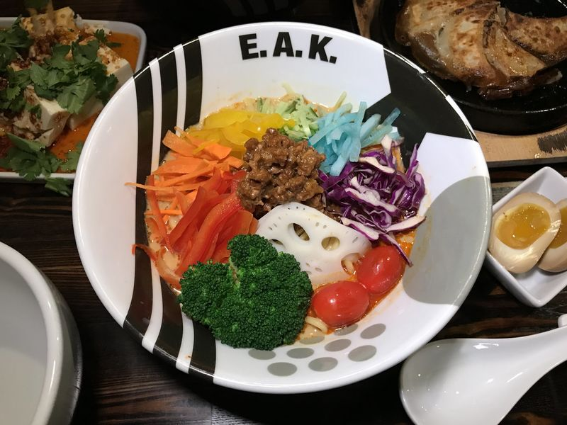 Rainbow Ramen Dishes