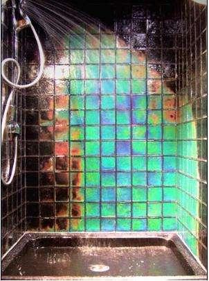 Rainbow Shower Tiles