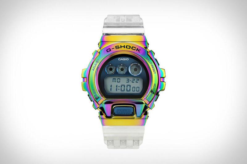Chromatic Iridescent Timepieces