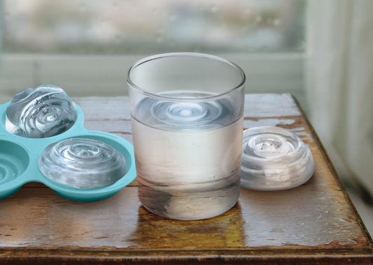 Ripple Effect Ice Trays