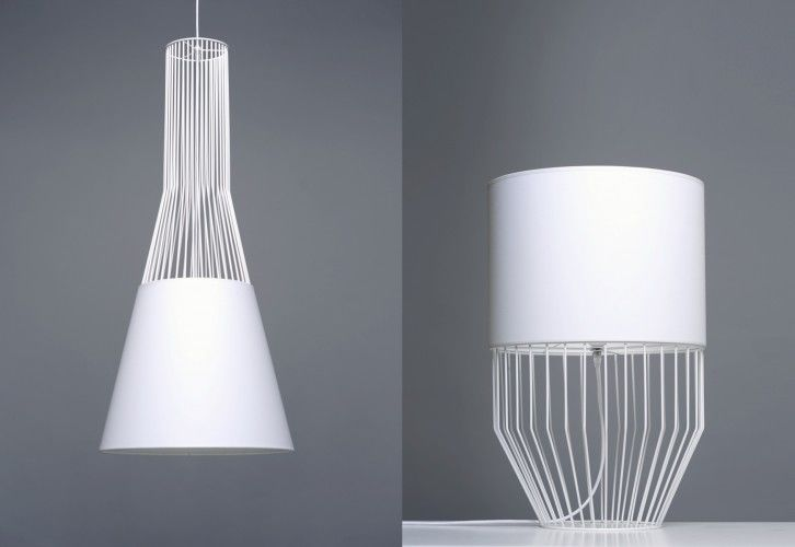 Contemporary Caged Lighting