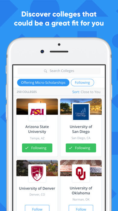 Scholarship Discovery Apps