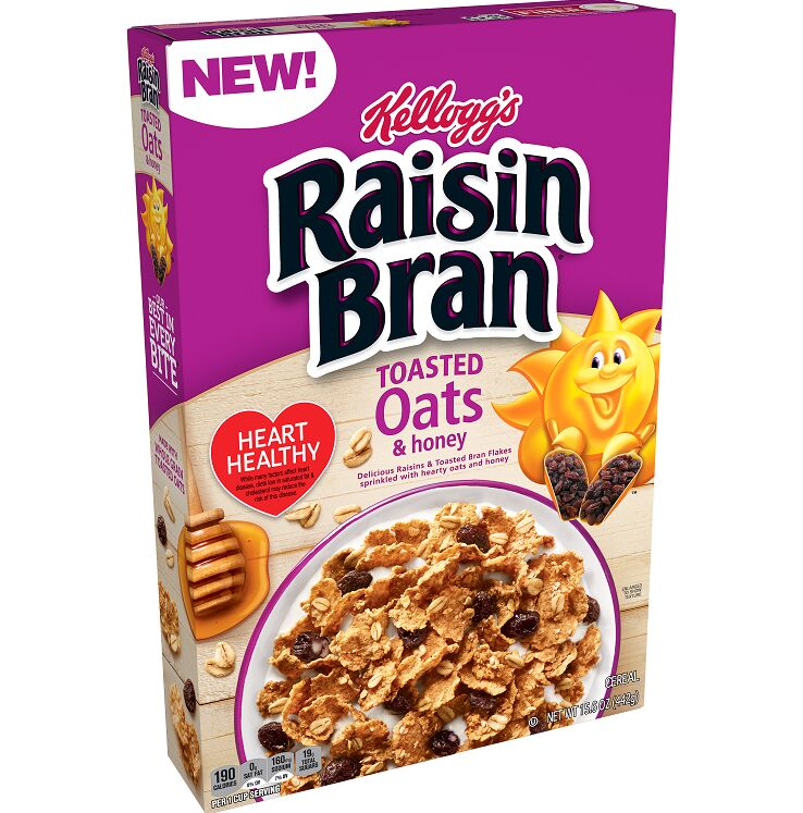 Heart-Healthy Toasted Oat Cereals