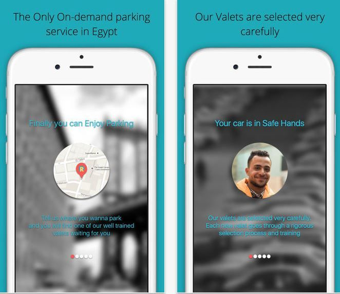 On-Demand Valet Apps