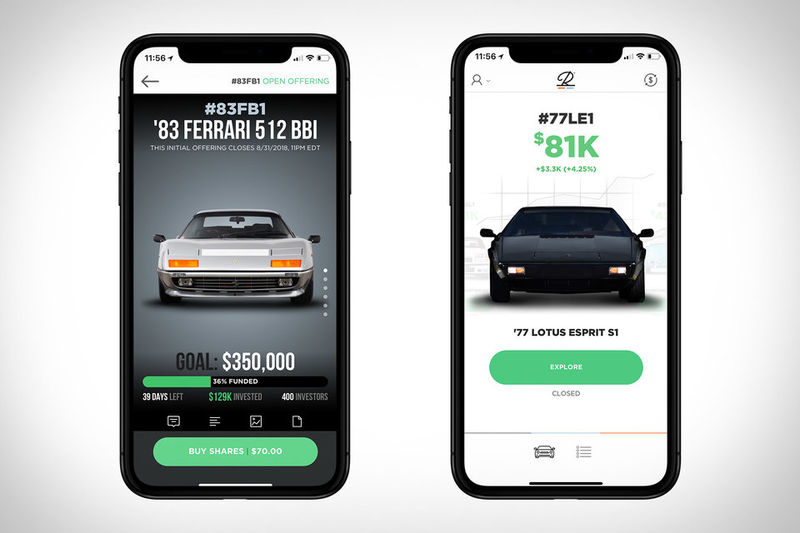 Automotive Equity Apps