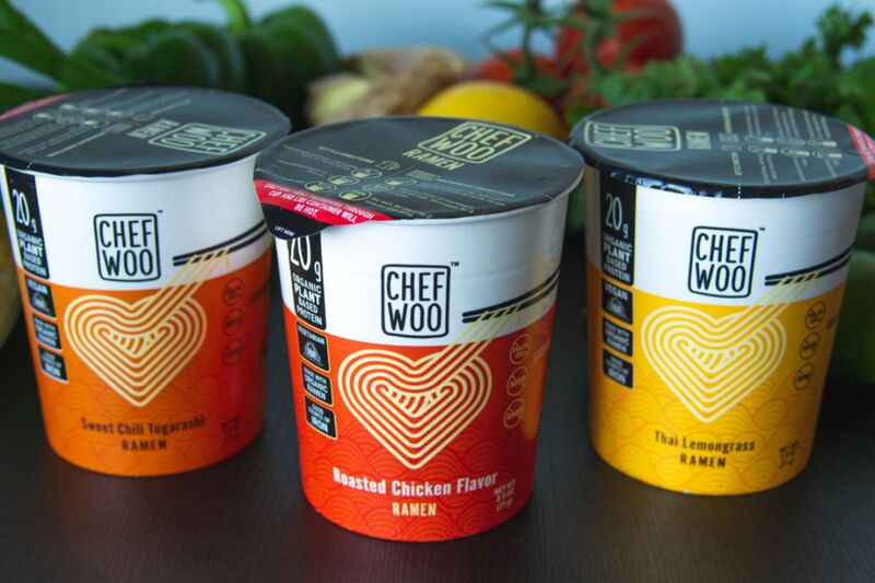Protein-Packed Noodle Cups