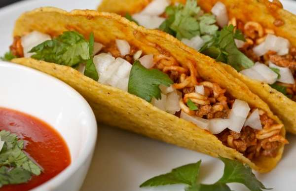 Noodle-Infused Tacos