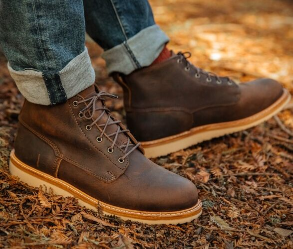 Refined US-Made Leather Boots