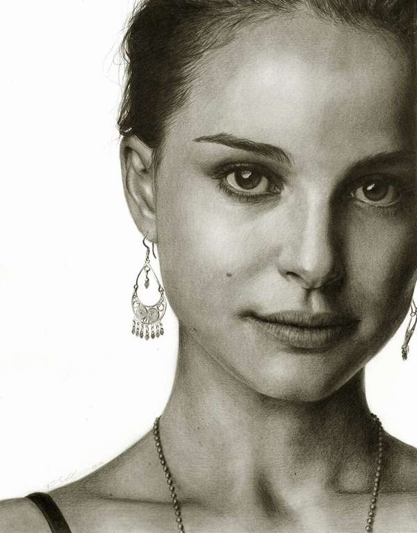 Hyperrealistic Celeb Sketches