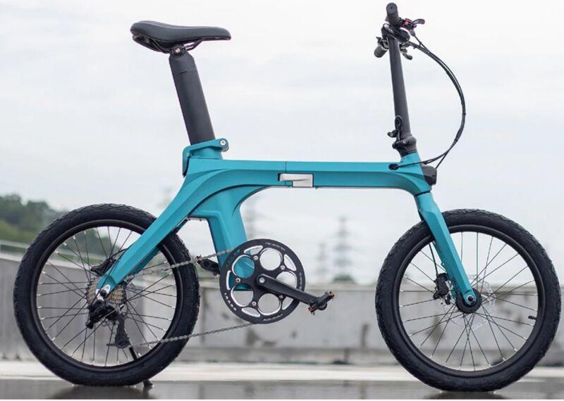 Range-Roving Folding E-Bikes