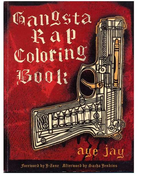 Gangsta Rap Coloring Books