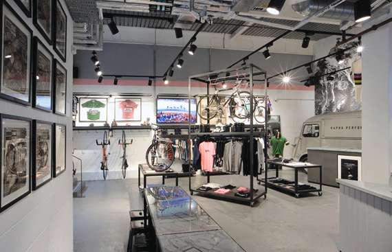 Upscale Bike Stores Rapha Cycle Club