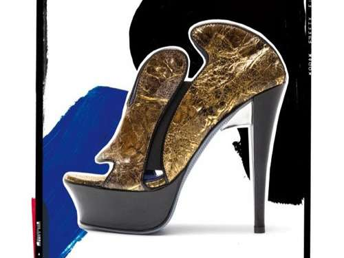Dazzling Gold Pumps