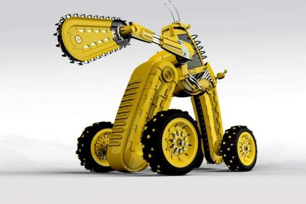 Alien Construction Equipment