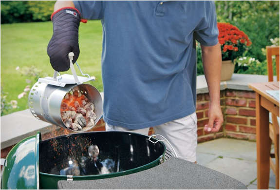 Easy Charcoal Flame Starters