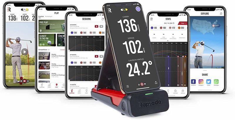 Swing-Tracking Golf Monitors