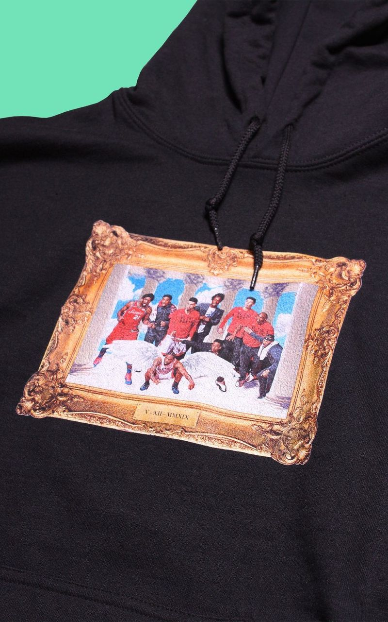 Painting-Inspired Sporty Hoodies