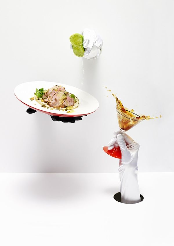 Food Photography Performance Art