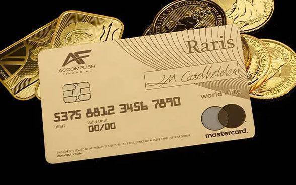 Precious Metal Payment Cards