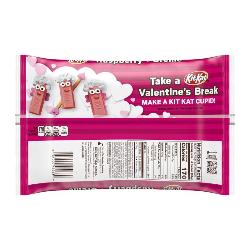 Raspberry Crème Candy Bars
