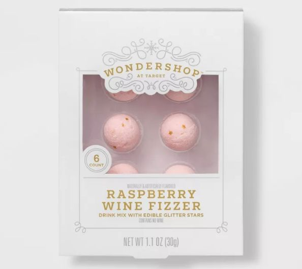 Glitter-Filled Wine Balls