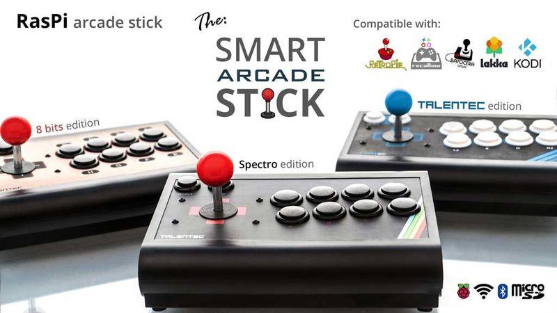 Customizable Retro Gaming Consoles : RasPi arcade stick