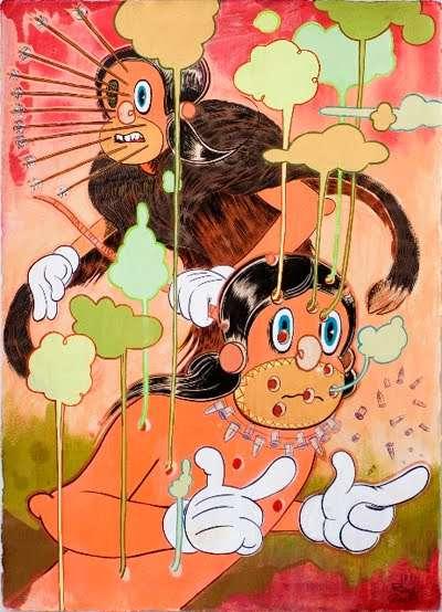 Violent Vintage Cartoons