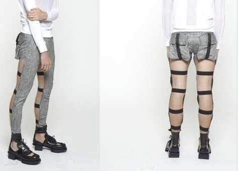 Backless Pants