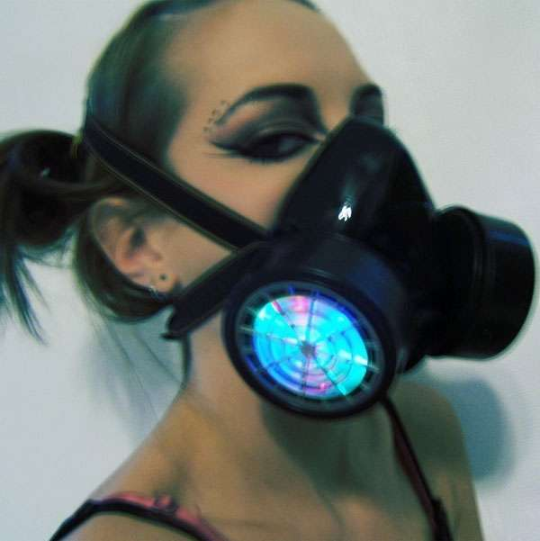 Rave-Ready Gas Masks