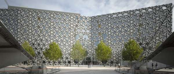 Dizzyingly Patterned Architecture