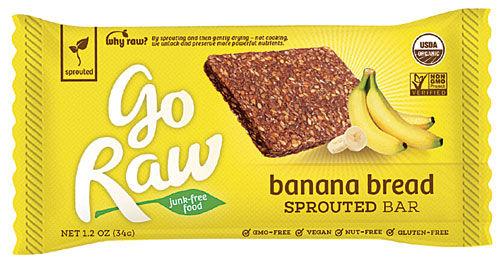 Raw Banana Bread Bars
