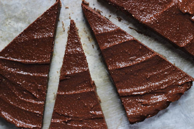 No-Bake Chocolate Tarts